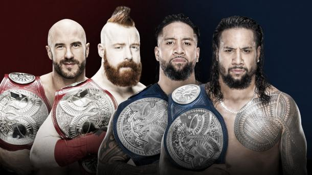 Will Sheamus and Cesaro survive the Uso Penitentiary? Photo: WWE.com