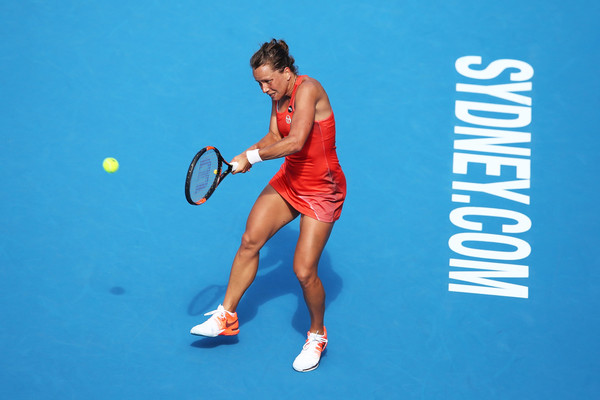 Barbora Strycova reached the semifinals in Sydney this year, falling to Radwanska in straight sets | Photo: Brendon Thorne/Getty Images AsiaPac