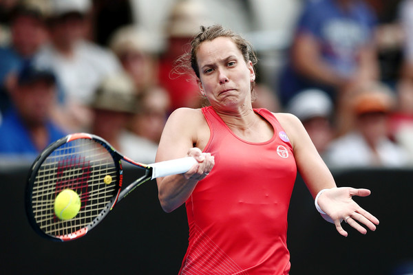 Barbora Strycova progresses to the third round | Photo: Anthony Au-Yeung/Getty Images AsiaPac