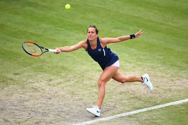 Barbora Strycova is currently a dangerous figure on grass | Photo: Jordan Mansfield/Getty Images Europe