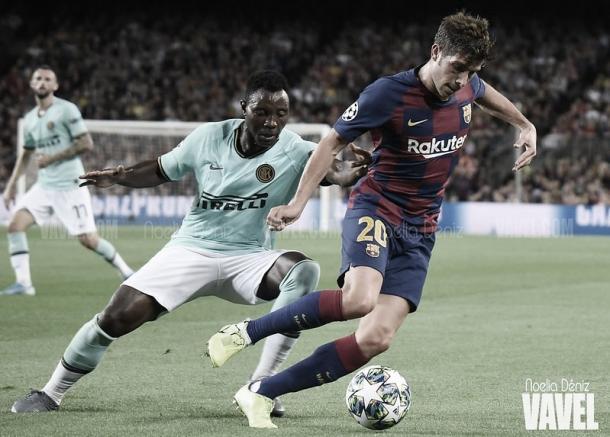 El Barcelona vence 2-1 al Inter en el Camp Nou | Foto: Noelia Déniz - VAVEL
