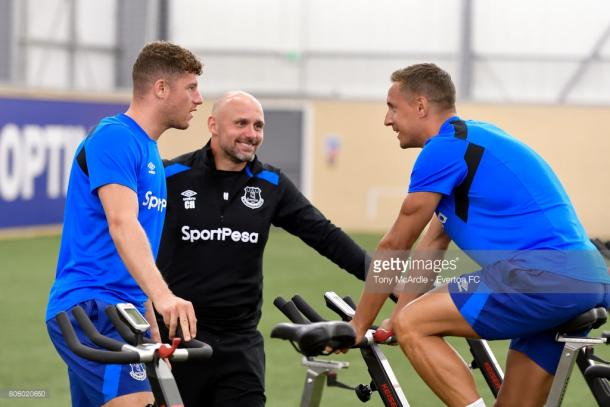 Ross Barkley is struggling with a hamstring injury. Source | Getty Images.