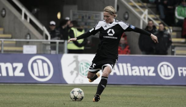 Bartusiak playing for her club Frankfurt. Photo:  ffc-frankfurt.de/)