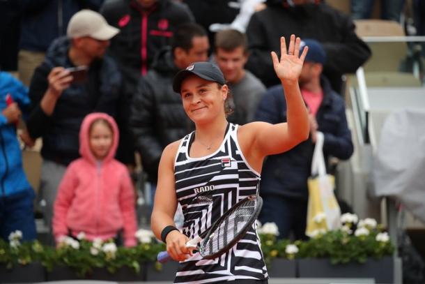 Australiana pode sair de Paris como vice-líder do ranking mundial (Foto: Divulgação/Roland Garros)