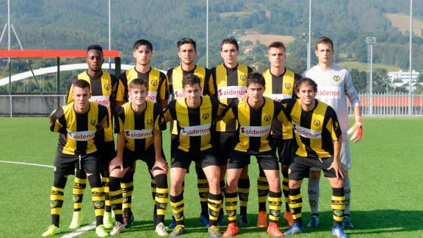Once inicial del CD Baskonia | Foto: Web oficial del Athletic