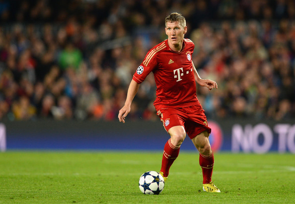 Schweinsteiger appearing for Bayern Munich in 2013 | Source: Mike Hewitt/Getty Images Europe
