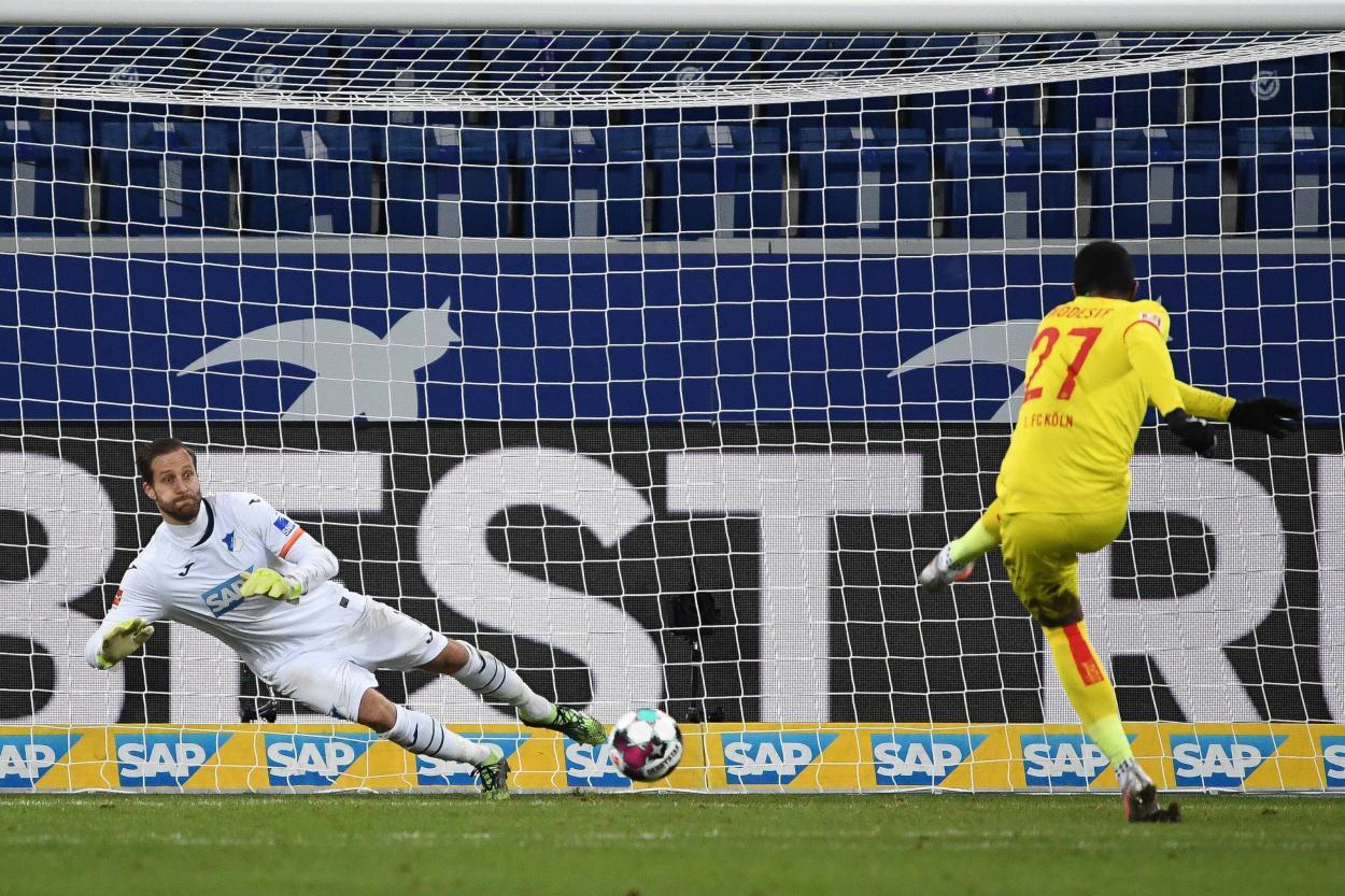 Baumann puso la guinda a su gran actuación parando un penalti / FOTO: @tsghoffenheim