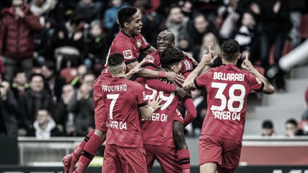 El aporte en ataque de Moussa Diaby le ha bastado al Bayer Leverkusen para conseguir quince victorias en 26 partidos | Foto: Bundesliga.com