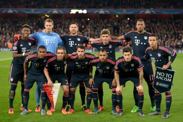 Una delle formazioni titolari del Bayern Monaco. | Google.