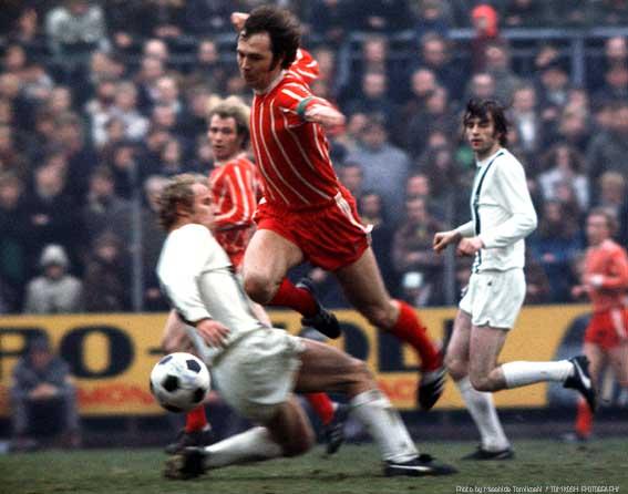 Beckenbauer. Foto: Bayern Munchen