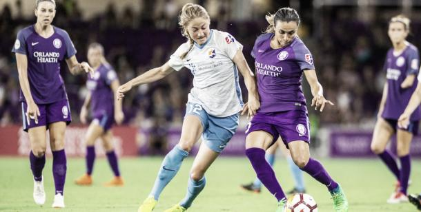 Marta will look to turn her relatively disappointing season around (Photo via skybluefc.com)