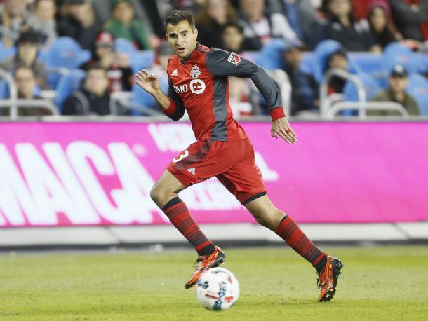After a long spell out with an injury. Beitashour has bounced back well | source: torontofc.ca