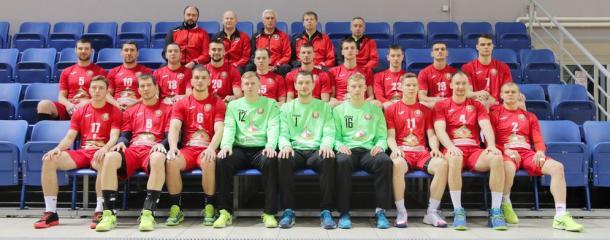 Selección bielorrusa. Foto: EHF.