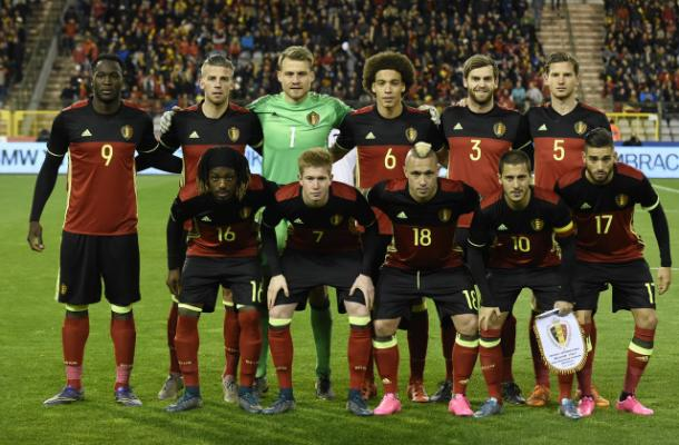 Il Belgio in una recente partita, vivoazzurro.it