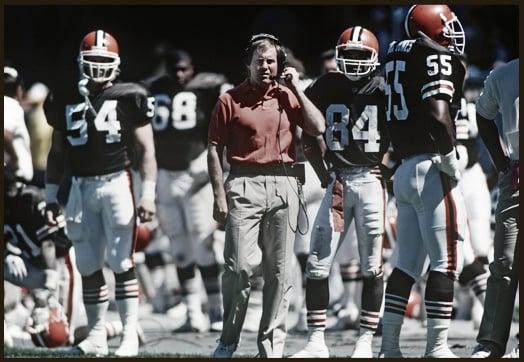 Bill Belichick tuvo su primer trabajo como Head Coach en Cleveland Browns (Imagen: NFL.com)
