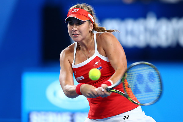 Belinda Bencic also participated in the Hopman Cup this year | Photo: Paul Kane/Getty Images AsiaPac