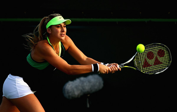Belinda Bencic would look to get the win here | Photo: Clive Brunskill/Getty Images North America