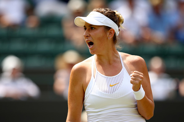 Belinda Bencic had a resurgent week at Wimbledon | Photo: Clive Brunskill/Getty Images Europe