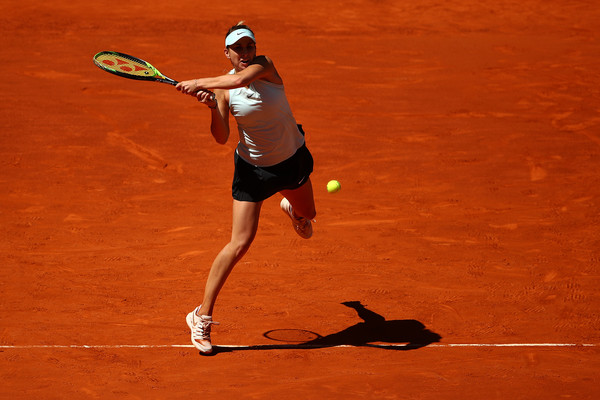 Belinda Bencic clinched her first career win in Madrid this year and went on to reach the semifinals | Photo: Julian Finney