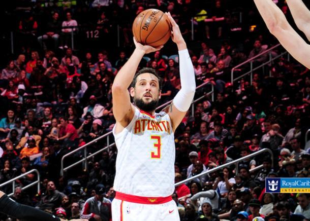 Belinelli es uno de los jugadores que podría encajar en los Sixers | Fuente: Atlanta Hawks