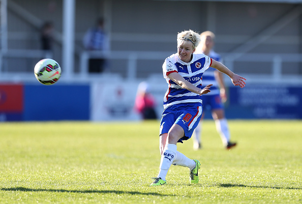 Horwood opens the scoring for Reading against Yeovil (Photo credit: Ben Hoskins/Getty)