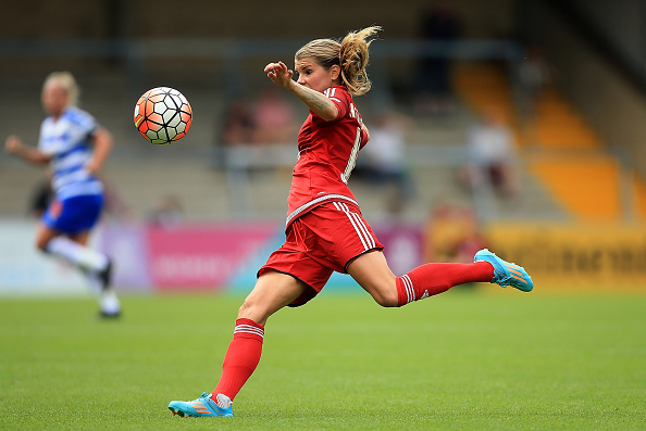 Hegerberg could be the one to watch at the Hive this weekend (credit: Ben Hoskins/Getty)