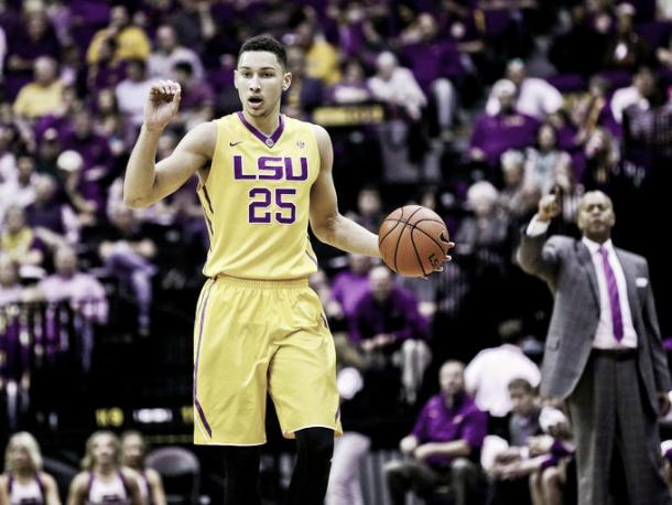 Ben Simmons is the best athlete and is projected to go first overall by numerous Mock Drafts (Photo: Derick E. Ingle)