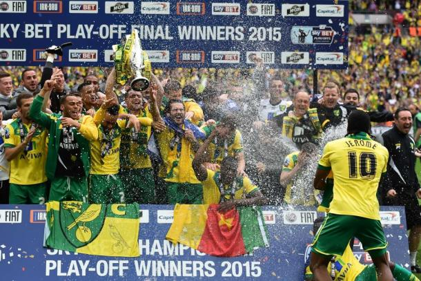 Happier times in Norwich's recent history | Credit: Ben Stansall