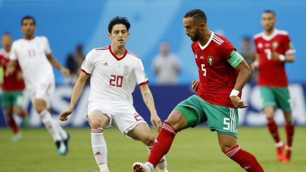 Benatia en el encuentro frente a Irán   Fuente: FIFA