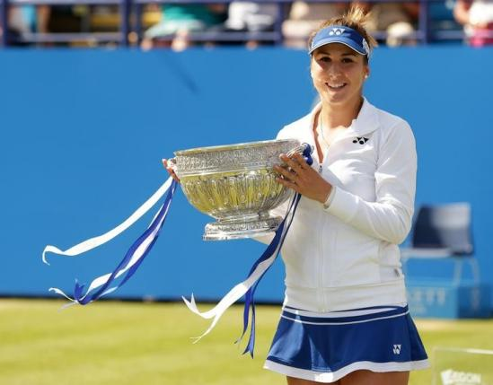 19-year-old Bencic will be looking to retain her title this year at Eastbourne / Reuters
