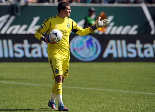 Joe Bendik during his time with the Timbers in 2012 | Source: Steve Dykes - Getty Images