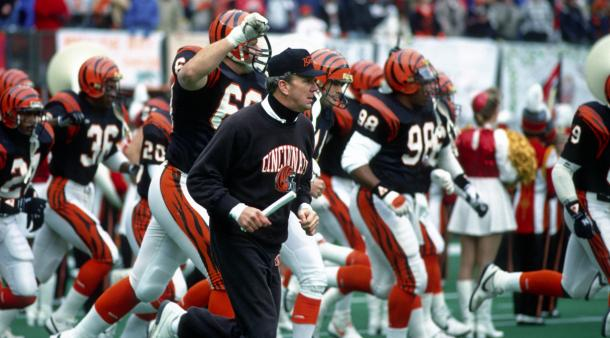 Los Bengals festejan su victoria ante los Bills   Foto: NFL