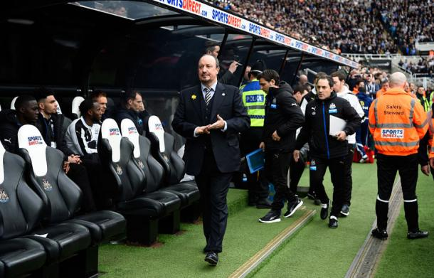 Sunday's derby saw Rafa Benitez's first game at St. James' Park as Newcastle boss (Getty)