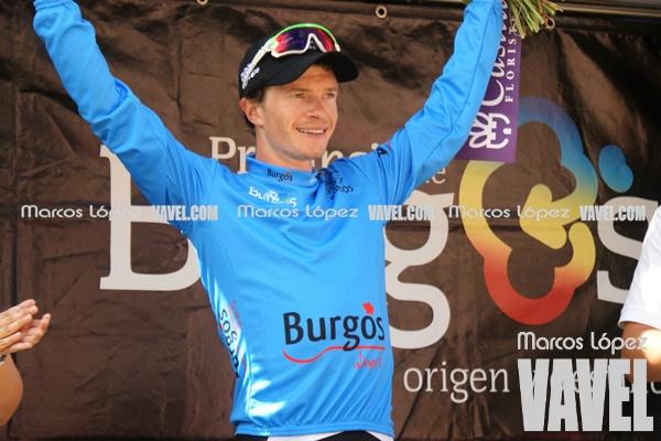 Benjamin King, maillot azul de las metas volantes. | Foto: VAVEL