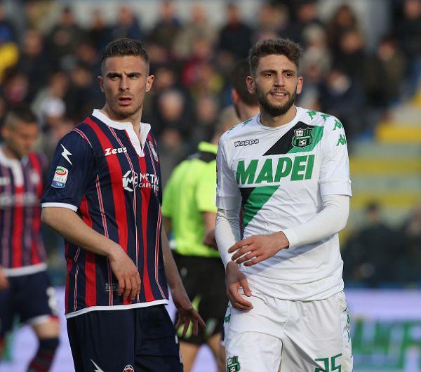 Domenico Berardi contro il Sassuolo, sportal.it