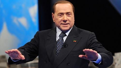 Silvio Berlusconi, presidente del Milan, italiacalcio.it
