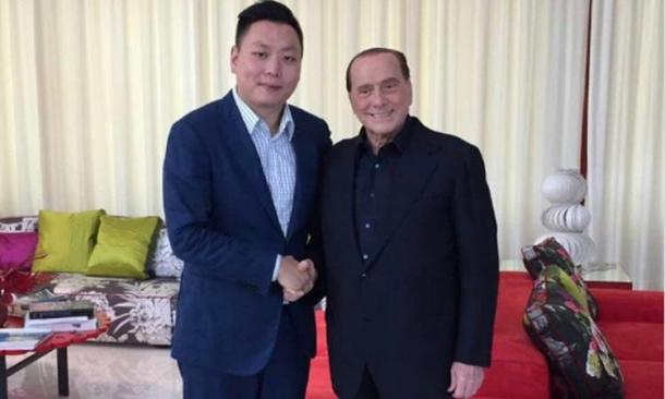 Han Li e Silvio Berlusconi, affaritaliani.it