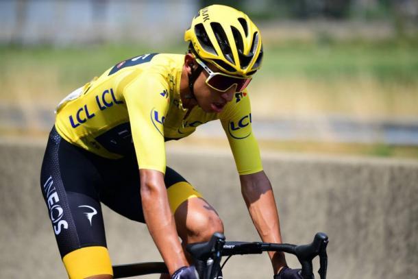 Egan Bernal, virtual ganador del Tour de Francia 2019. | Foto: LeTour