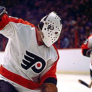 Bernie Parent, emblema de los Flyers en sus inicios. (Vintage Sports)