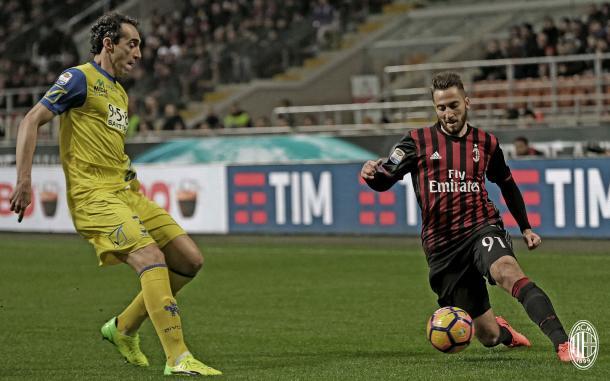 Bertolacci e Dainelli, acmilan.com