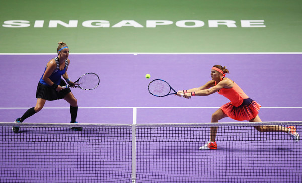 Mattek-Sands and Safarova would look to regain the title here | Photo: SMP Images