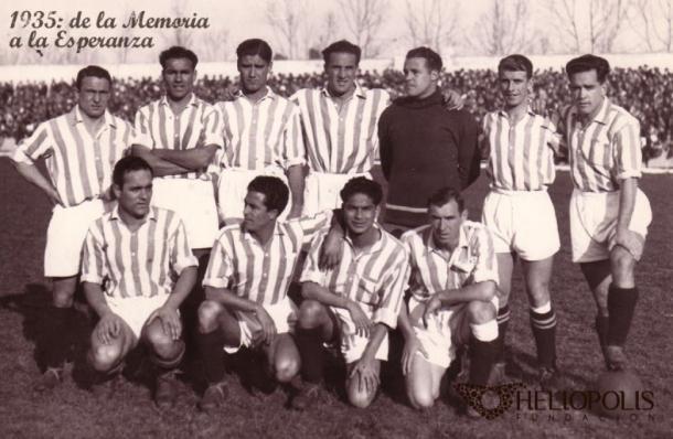 El Real Betis fue uno de los primeros equipos en hacerse con el título de Campeón de Liga. Foto: as.com