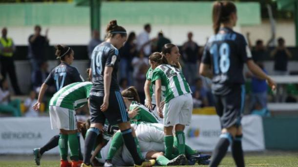 La derrota ante el Real Betis cierra un primer tramo del año para el olvido. Fotografía: Web Oficial Liga Iberdrola.