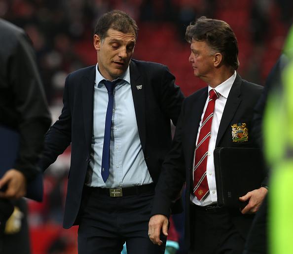 Bilic and van Gaal will meet again soon | Photo: Tom Purslow/Manchester United