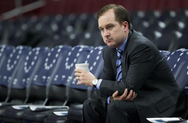 'The Process' no podría entenderse sin San Hinkie. | Fotografía: Bill Streicher / USA TODAY Sports