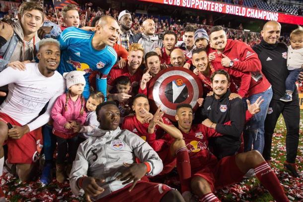 Celebración de la Supporters' Shield (theathletic.vom)