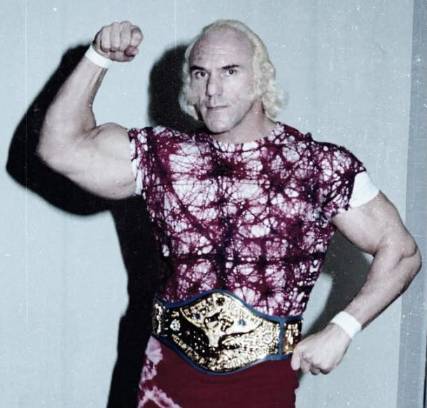 Billy Graham as WWWF champion in 1977 (image: psycho.andy.wikia.com)