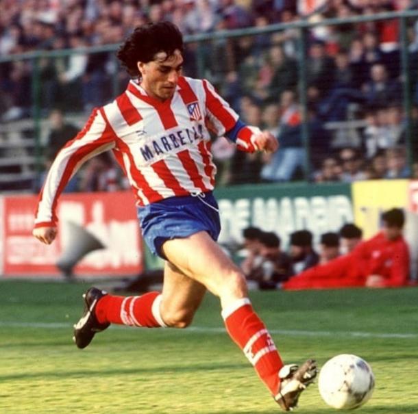 Futre jugando en el Atlético de Madrid. | Fuente: Instagram Oficial
