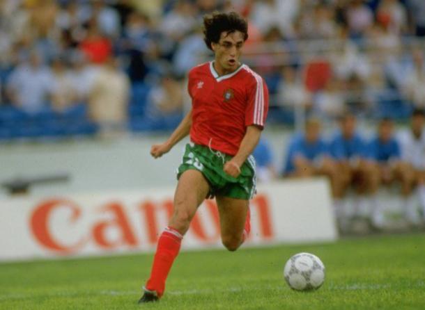 Paulo Futre en la Selección Nacional de Portugal. | Fuente: Instagram Oficial