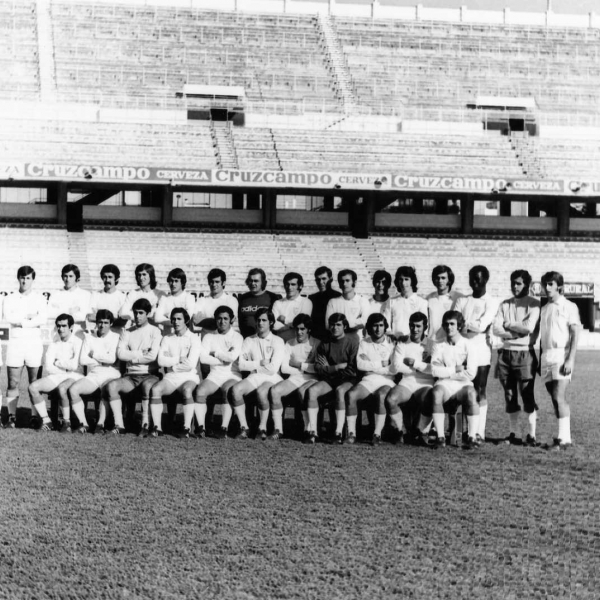 Sevilla Fc 1974. Fuente de la imagen: Sevilla Fc